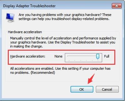change hardware acceleration