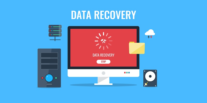 data-recovery-vector