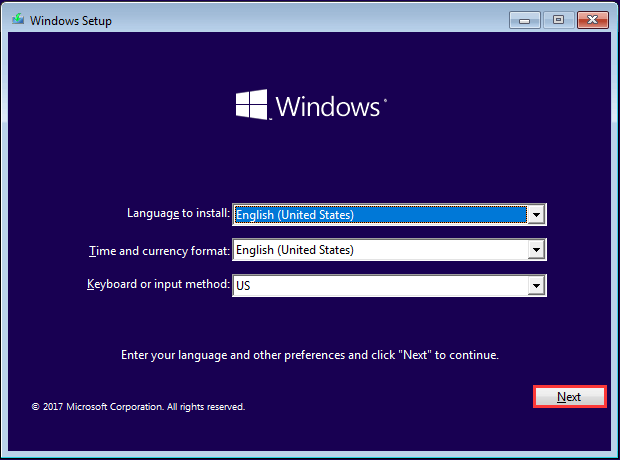 hard disk format for windows 10