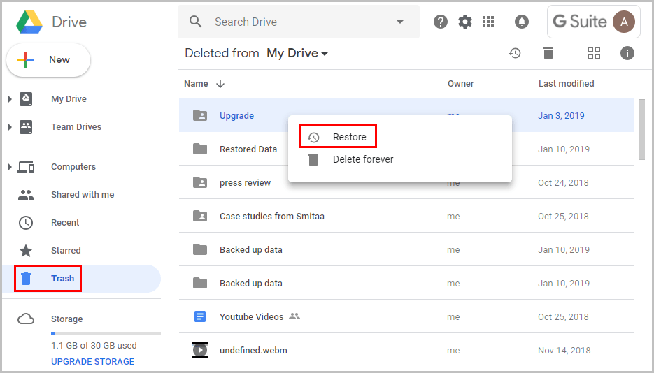 how-to-empty-google-drive-trash-4