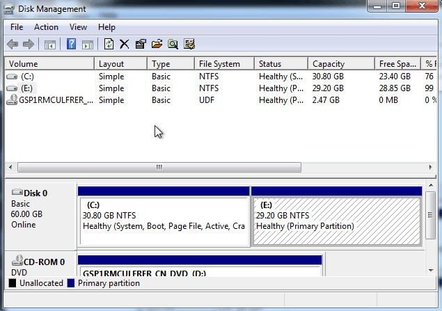 partition hard drive without formatting
