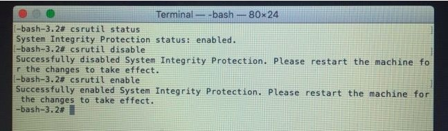system-integrity-protection