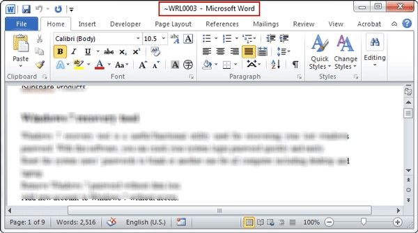 word-document-recovery