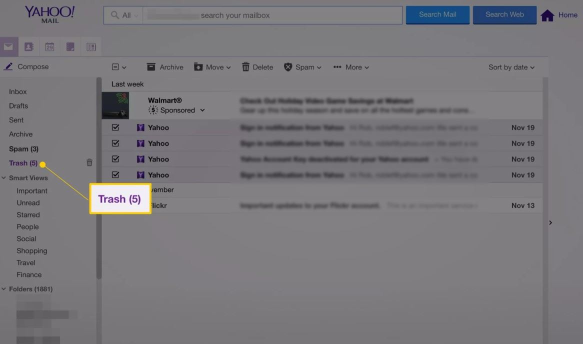 yahoo-email-recovery-trash