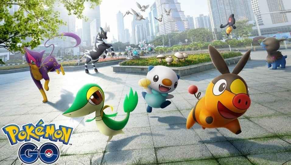 different pokemons