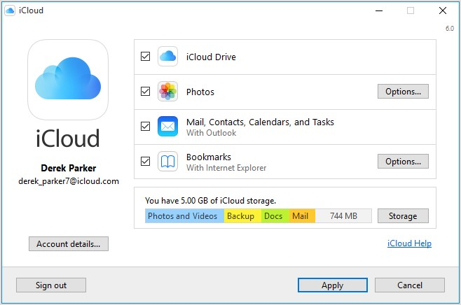 how to transfer photos from iphone to icloud on computer