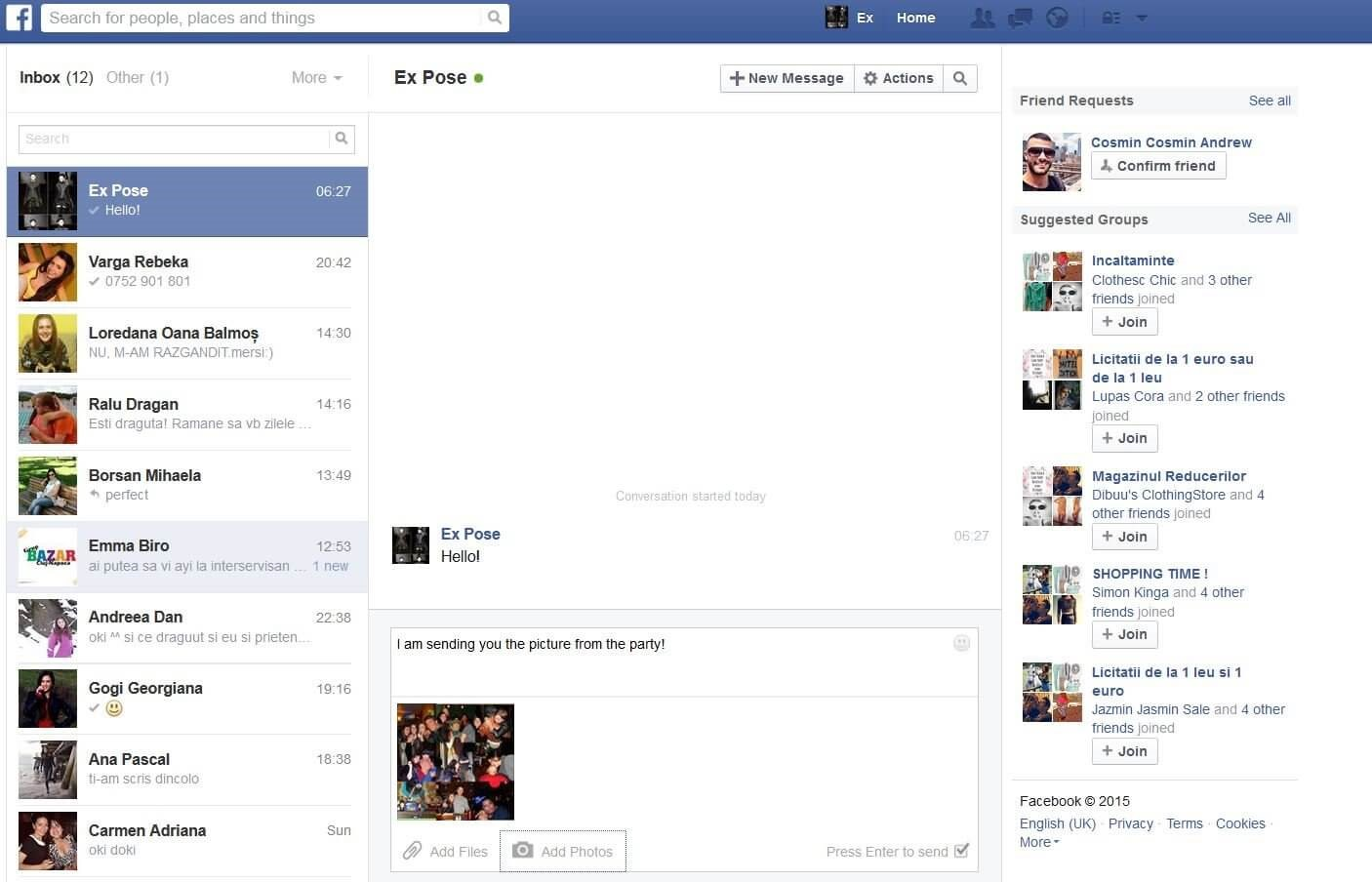 Tips on How to Send Messages/Photos/Videos on Facebook