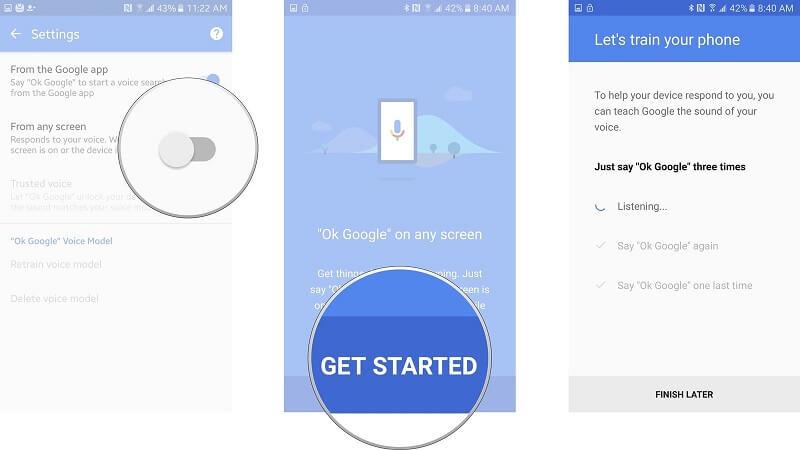 setup android smartlock