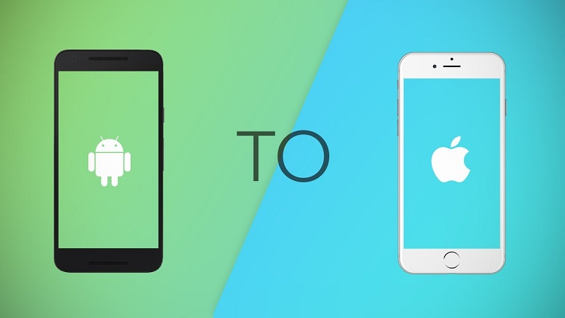 contacts from Android to iPhone