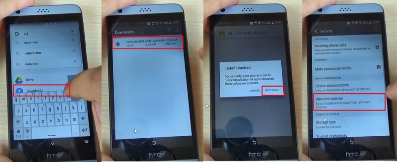 bypass google lock on htc - step 4