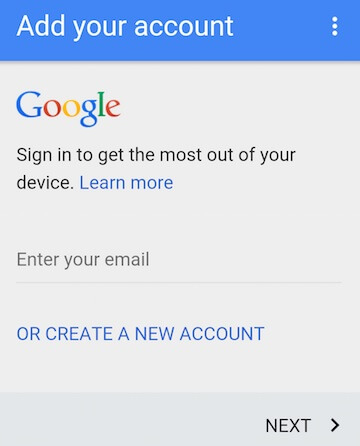 bypass google lock on samsung - step 4