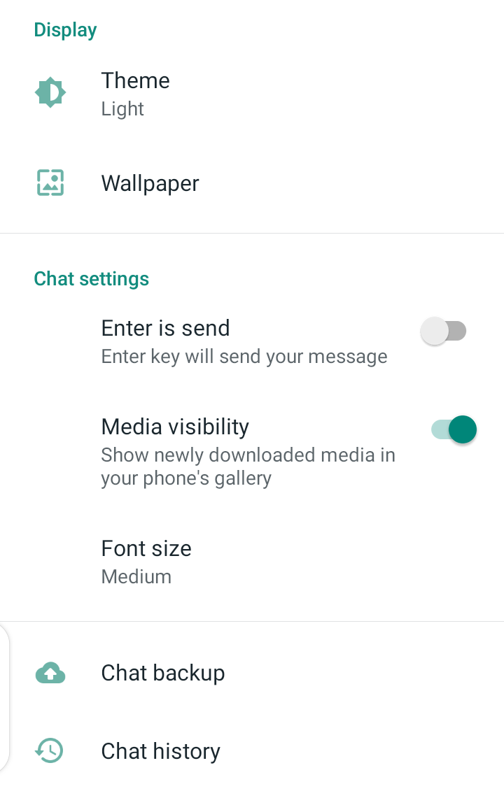 how to backup whatsapp videos android