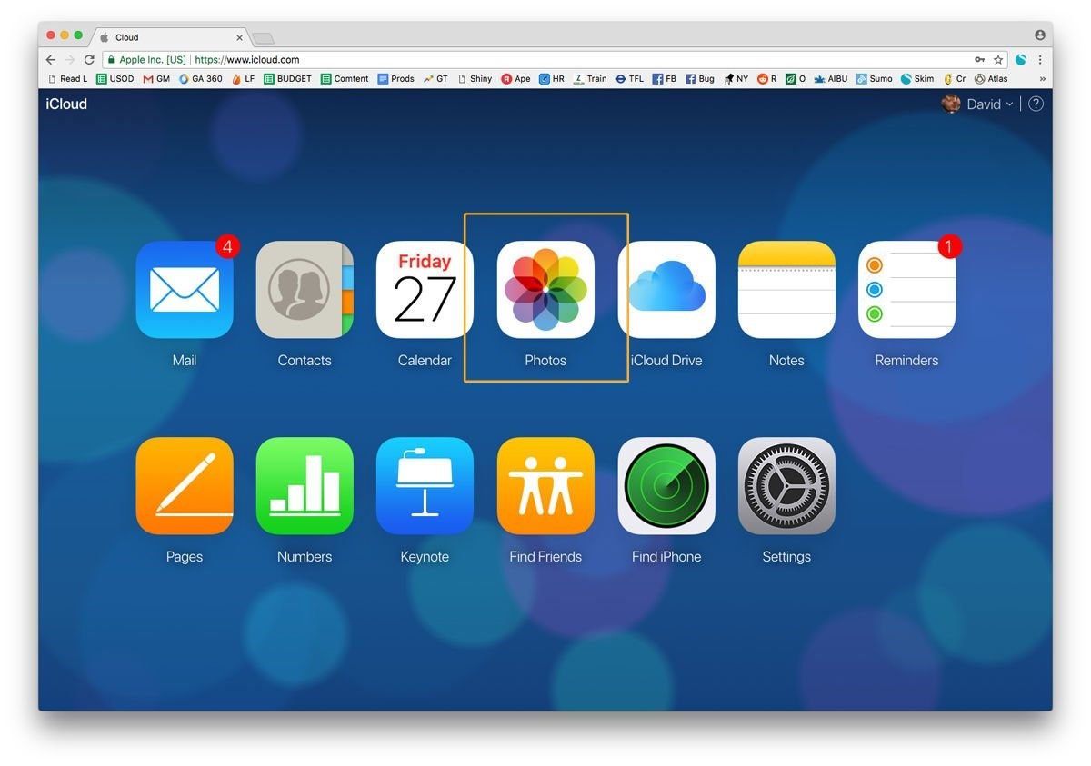 transfer photos from icloud to pc