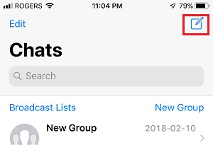 how to search friends on whatsapp without phone number
