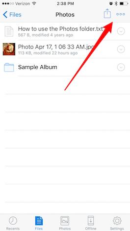 dropbox-send-photos