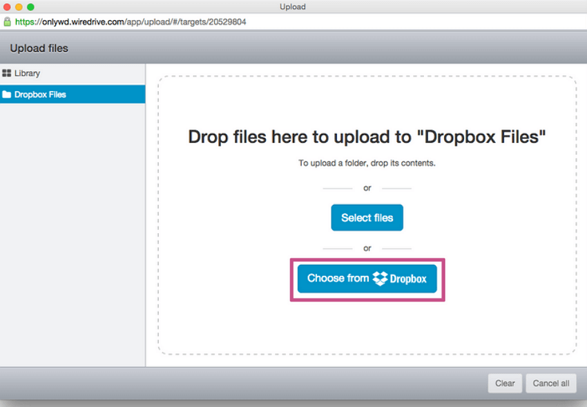 dropbox-upload-file