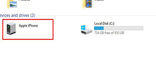 transfer pictures to hard drive with file explorer