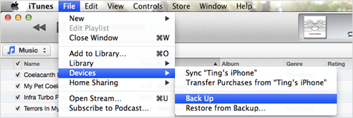 extract iPhone messages file from iTunes backup
