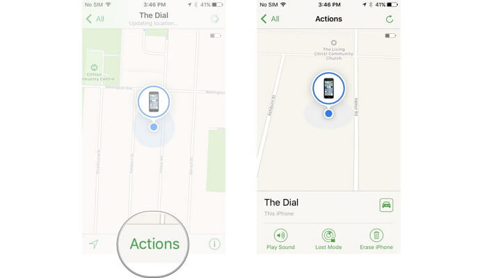 hack iphone passcode using find my iphone