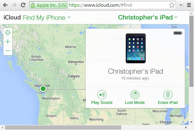 factory reset locked ipad using find my ipad