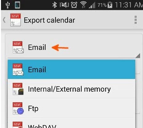 4 Methods to Export Samsung Calendar
