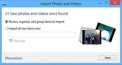 import-setting
