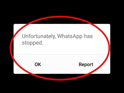 whatsapp crashing