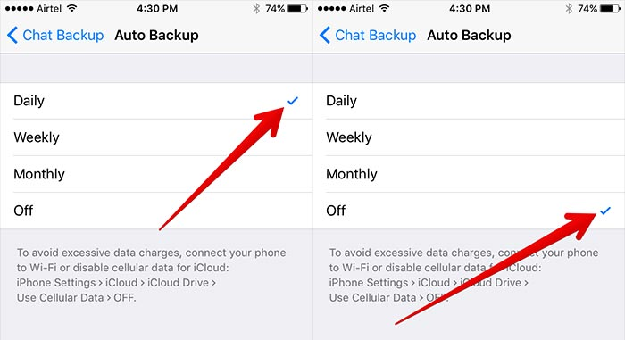 transfer messages from iPhone to iPhone XS using iCloud