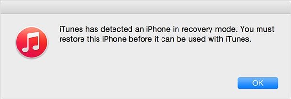 factory reset locked iphone in recovery mode