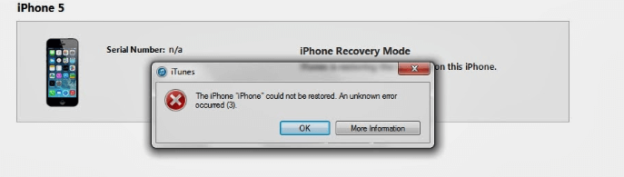 What to Do If You Cannot Restore Your iPhone Because of iTunes Error 3