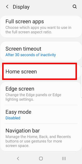 unlock samsung home screen layout