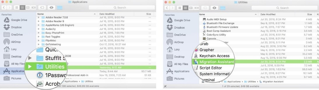 how to transfer photos from mac to mac wirelessly