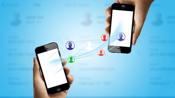 phone to phone contact tranfser app