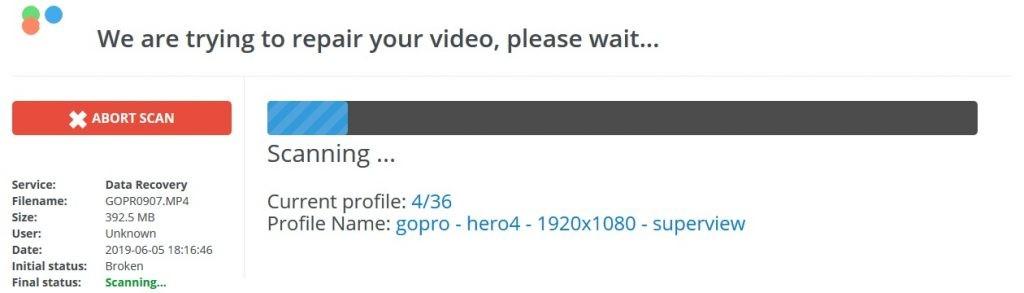 repair mp4 video online free