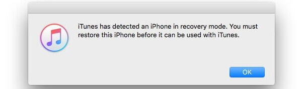 unlock ipod touch in recovery mode