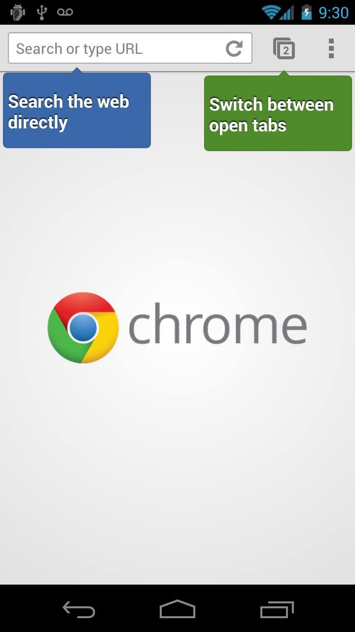 Transfer data from Android to iPhone using Google Chrome