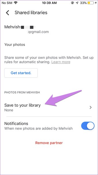 transfer google photos from one account to another