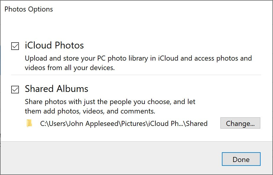 how to transfer photos from icloud to external hard drive