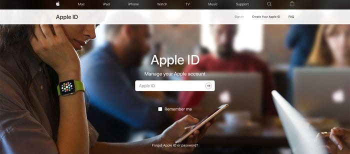 unlock my apple id but forget apple id and password