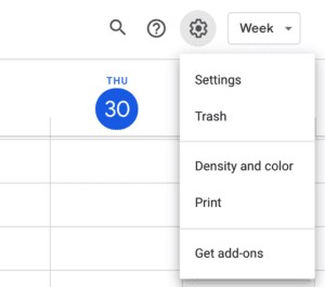 how to recover deleted events in google calendar