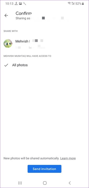 transfer photos from one google account to another