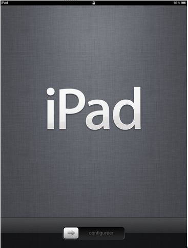 turn on iPad