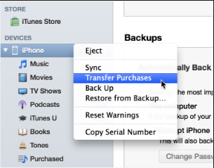 transfer apps from iPhone to iPad via iTunes