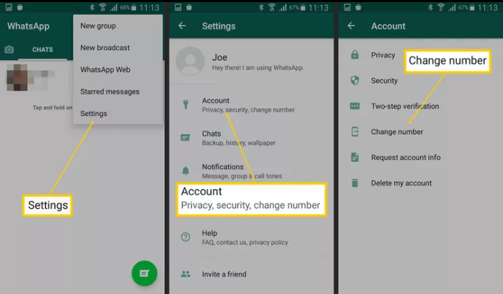 transfer whatsapp messages from android to iphone without software