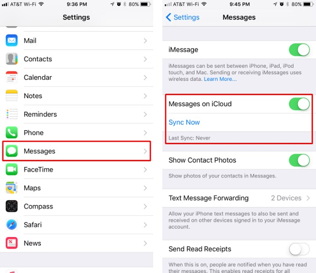 4 Ways to Transfer SMS/iMessages from old iPhone to iPhone XS/XR/X