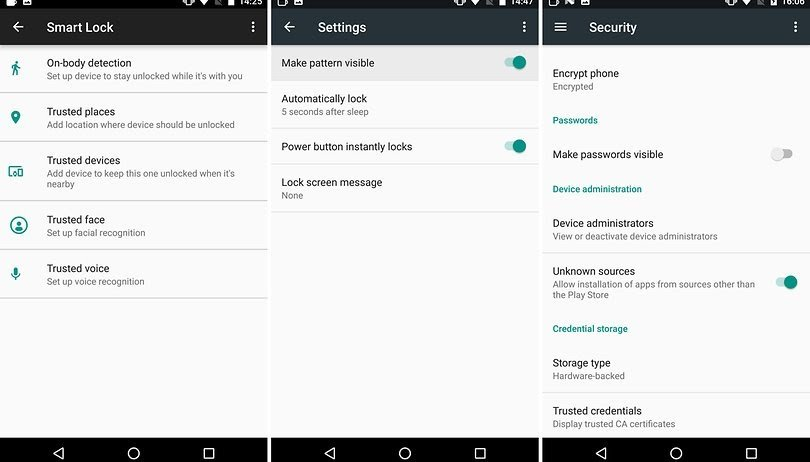 unlock android with smart lock