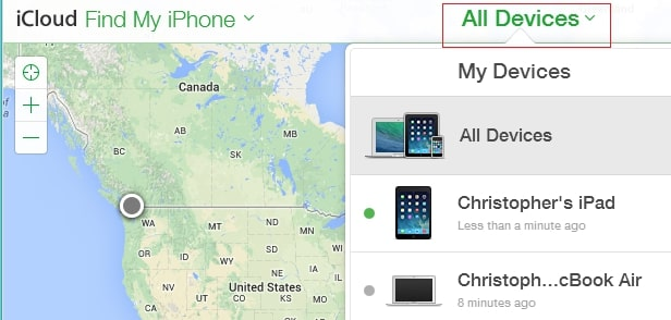 unlock ipod touch with find my iphone