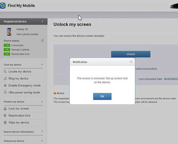 unlock samsung phone pattern lock