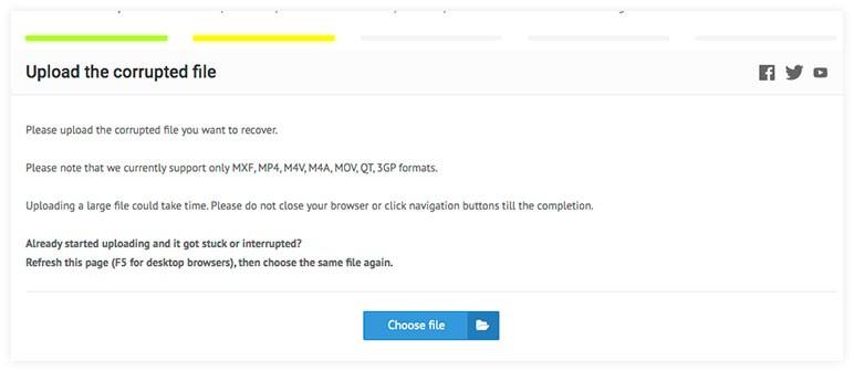 mp4 video file repair software free download