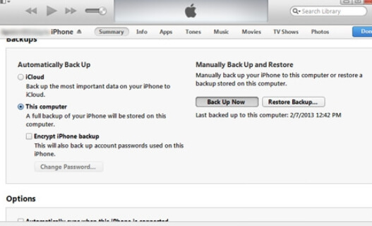 whatsapp backup itunes